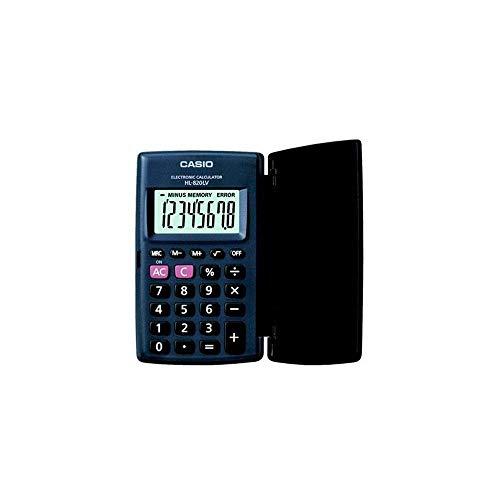 Casio Hl-820lv-bk-w Portable Type Calculator with 8-Digit Extra Big Display