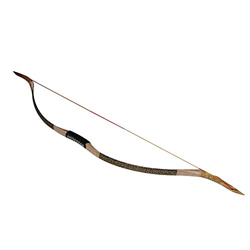Huntingdoor Longbow Traditional Recurve Bow Outdoor Sports Hunting Handmade Horsebow 30-50lbs