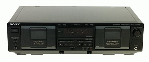 Sony TC-WE435 Dual Cassette Deck (Discontinued by Manufacturer)