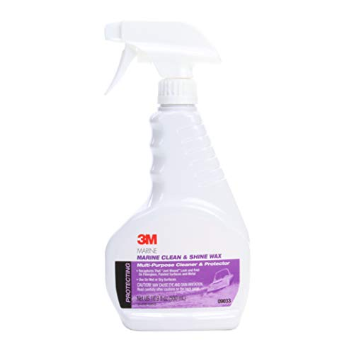 3M Marine Clean & Shine Wax (09033) – For Boats and RVs – 16.9 Ounces
