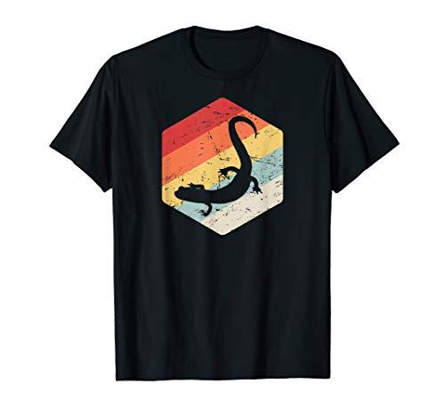 Retro Tiger Salamander T-Shirt / Pet Salamander Amphibians