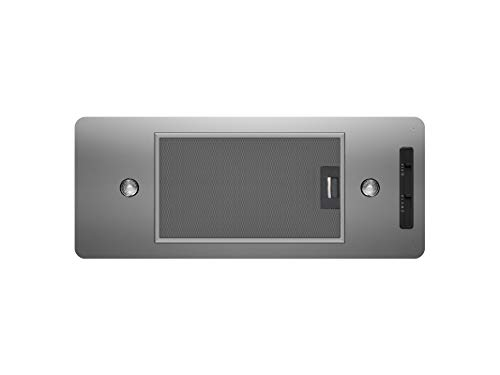 Zephyr AK8000BS 27' Essentials Twister Power Pack Cabinet Insert Hood with 400 CFM in Stainless Steel