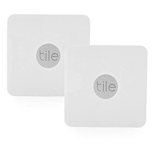 Tile Slim - Phone Finder. Wallet Finder. Laptop Finder, Skateboards - Non-Retail Packaging - 2 Pack + 3 Tile Slim Adhesive