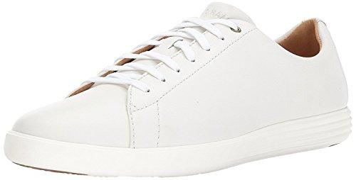 Cole Haan Men's Grand Crosscourt II Sneaker, white leather, 10 Medium US