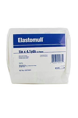 Elastomull Sterile Conforming Gauze Bandage Rolls, 1' X 4.1 Yds, Sterile Gauze style, Pack of 12 Rolls