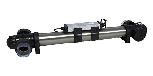 Jebao STU Stainless Steel UVC Clarifier (75-watt)