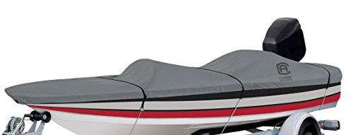 Classic Accessories Lunex RS-1 Boat Cover For Bass Boats 16' - 18.5' L Up to 98' W