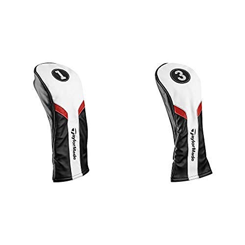 TaylorMade Golf Driver Headcover and TaylorMade Golf Fairway Headcover