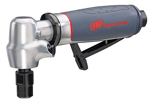 Ingersoll Rand 5102MAX Air Die Grinder – Right Angle, Ergonomic Grip, 0.4 HP and 20,000 RPM Motor, Lightweight Tool, Spindle Lock, Grey