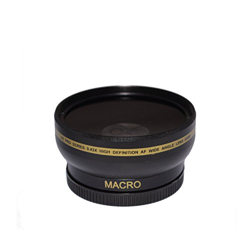 58mm High Definition Wide Angle Macro Lens for Nikon, Canon, Sigma, Tamron, Pentax, Olympus, Rokinon, Sony, Samsung, Zeiss - Ultra Wide Angle Converter, 58 mm Wide Angle Lens, 58mm Lens
