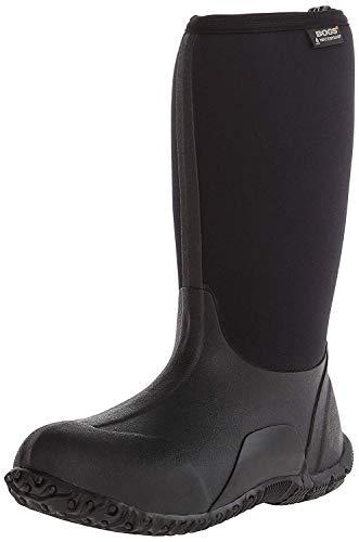 Bogs Classic No Handles Waterproof Insulated Rain Boot (Toddler/Little Kid/Big Kid), Black, 12 M US Little Kid