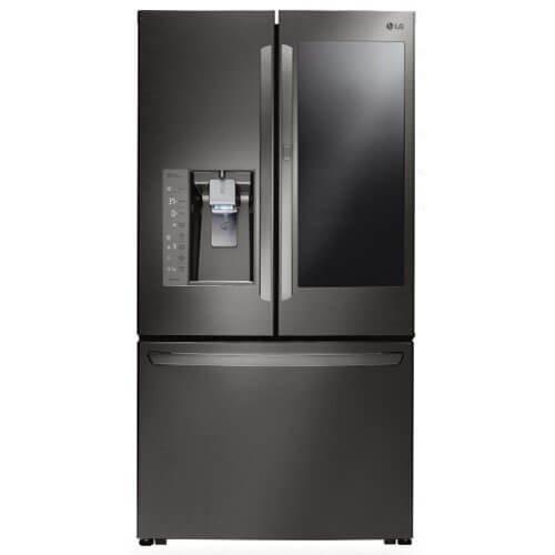LG LFXC24796D / LFXC24796D / LFXC24796D 23.5 Cu. Ft. Black Stainless Counter-Depth French Door Refrigerator