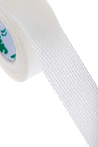 3M Durapore First-Aid Medical Tape - Silk-Like Cloth, Irritation Free - 1' X 10 Yd - (2 Pack)
