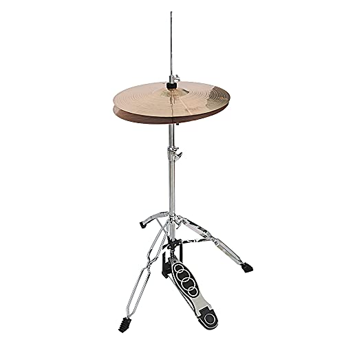 Professional Foldable Hi-Hat Stand,Control Style Drum Hi-Hat Cymbal Stand with Pedal
