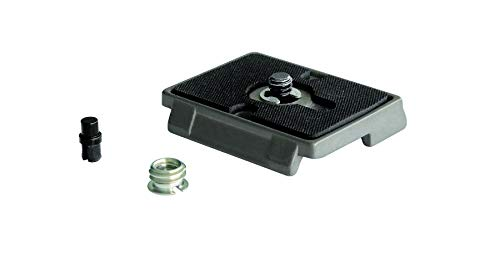 Manfrotto 2x 200PL RC2-System Quick Release Plate with 1/4'-20 Screw and 3/8' Bushing Adapter
