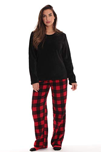Just Love Womens Microfleece Pajama Pants Set with Socks 6734-10195-1X