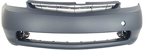 Front Bumper Cover Compatible with 2004-2009 Toyota Prius Primed
