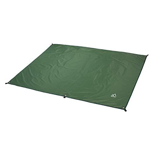 Terra Hiker Camping Tarp, Water Proof Picnic Mat, Mutifunctional Tent Footprint with Drawstring Carrying Bag for Picnic, Hiking (Dark Green 94' x 86')