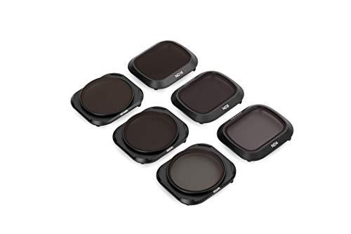 Tiffen Camera Lens Filters for Compact DJI Mavic 2 Pro Drone Including Neutral Density/Polarizer Kit, 6 Filter Kit