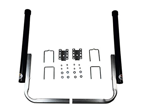 CE Smith Trailer PVC Boxed Post Guide-On, Black, 40'- Replacement Parts and Accessories for Your Ski Boat, Fishing Boat or Sailboat Trailer