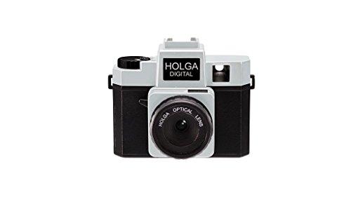 Holga Digital Camera - Black/Silver (2019 Model)