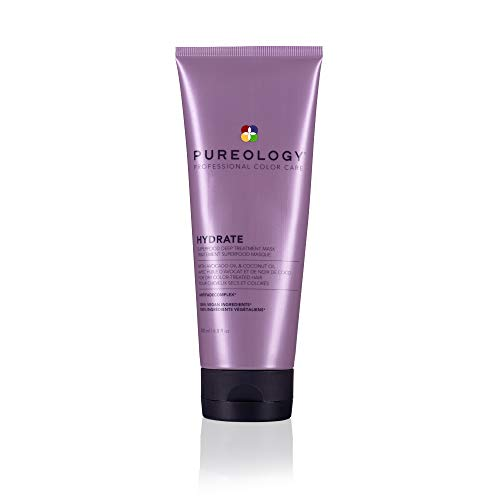 Pureology Hydrate Superfood Treatment | For Dry, Color-Treated Hair | Deeply Hydrating Treatment Mask | Silicone-Free | Vegan | Updated Packaging | 6.8 Fl. Oz. |