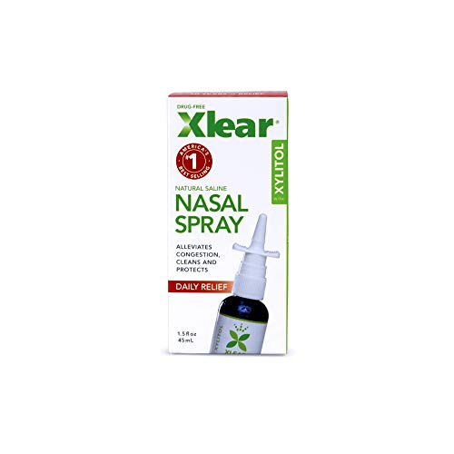 Xlear Nasal Spray for Sinus Relief 1.5 fl oz