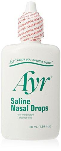 AYR Saline Nasal Drops 50ml QTY: 1