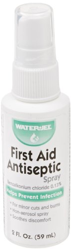 Water Jel-65364 First Aid Antiseptic, Spray Bottle, 2 oz.