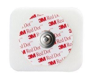 3M 2560 Red Dot Multi-Purpose Monitoring Electrode - Bag of 100
