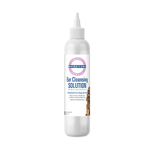 Stratford Pharmaceuticals Ear Cleansing & Drying Solution with Aloe Vera - Sweet Pea & Vanilla - 12 oz