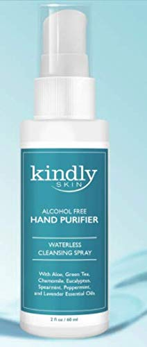 Alcohol-Free Hand Purifier | Essential Oils | Aloe | Soothes and Protects | Cleanses and Softens Hands