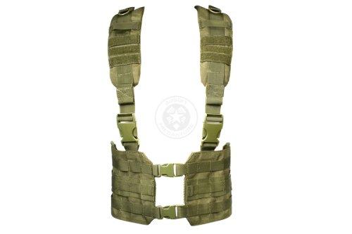 Condor MCR7 MOLLE Tactical Ronin Chest Rig Split Vest- OD MCR7-001