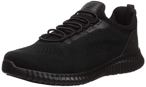 Skechers Men's Cessnock Food Service Shoe, Black, 12 M US