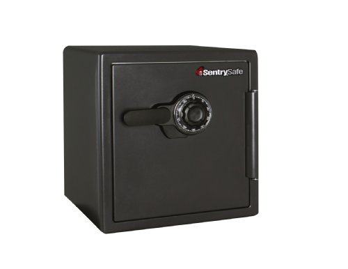 SentrySafe Fire Safe, Extra Large Combination Safe, 1.23 Cubic Feet, SF123CS