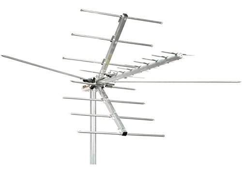 Channel Master Digital Advantage Directional Outdoor TV Antenna - 45 Mile Range VHF, UHF and HDTV Aerial - Install Outside or Attic - Preassembled - CM-2016