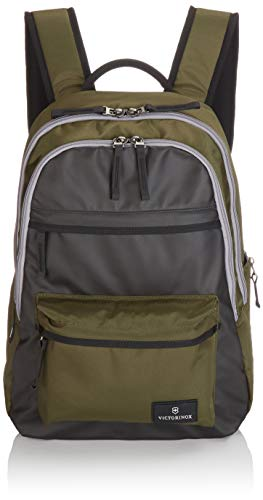 Victorinox Altmont 3.0 Standard Backpack with Multi-Purpose Side Pocket, Green/Black, 17.3-inch