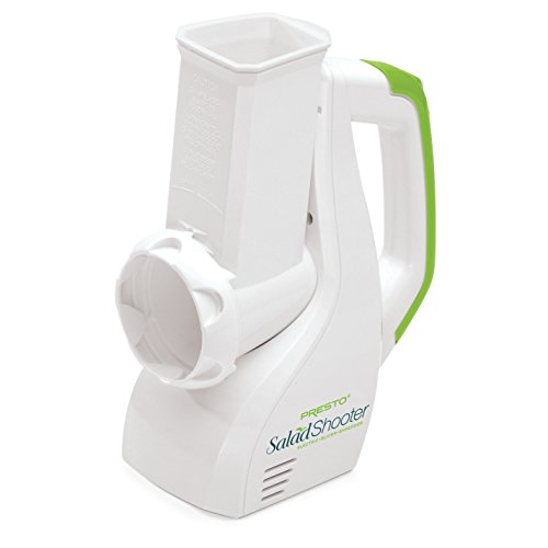 Presto Salad Shooter Electric Slicer/Shredder,White