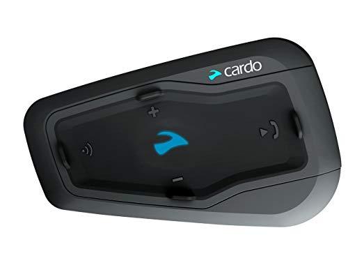 Cardo FREECOM 2 Plus Motorcycle 2-Way Bluetooth Communication System Headset (Black, Single)