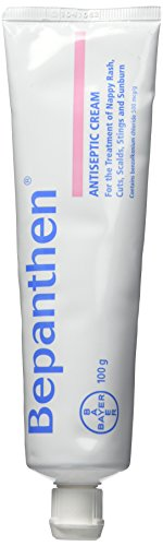Bayer Bepanthen Antiseptic Cream 100g for The Treatment of Nappy Rash, Cuts, Scalds, Stings and Sunburn (New Formulation) (New Formulation 100g)