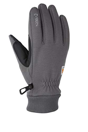 Carhartt Men's C-Touch Work Glove, Gray, Large