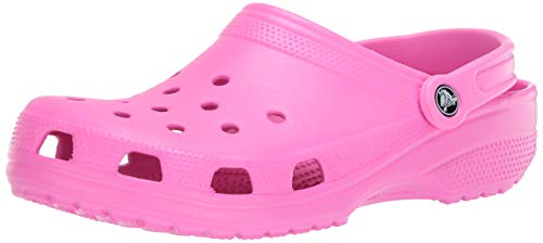 Crocs Classic Clog | Comfortable Slip on Casual Water Shoe, electric Pink, 9 US Women / 7 US Men M US