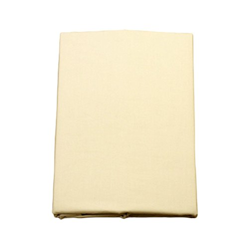 FULI 100% Cotton Cover for Traditional Japanese Floor Futon Mattress, Twin XL, Beige. Made in Japan