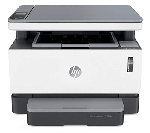 HP Neverstop All-in-One Laser Printer 1202w, Wireless Laser with Cartridge-Free Monochrome Toner Tank (5HG92A)