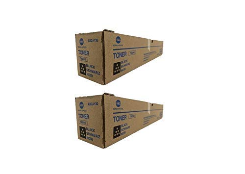 A8DA130 Genuine Konica Minolta Toner Cartridge 2 Pack, TN324K, 28000 Page-Yield Per Ctg, Black