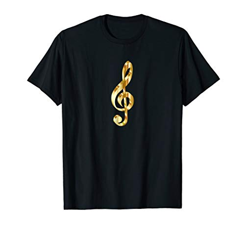 WooShirts Musical Treble Clef Note Classic Fit TShirt