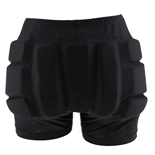 LIUHUO Hip Pad Protector Padded Shorts for Guard Ski Roller Skating Snow Crash Butt Pads for Hips Tailbone & Butt