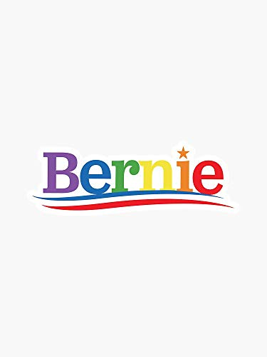 Bernie Sanders LGBTQ Campaign Vinyl Decal Bumper Sticker Wall Laptop Window Sticker 5'