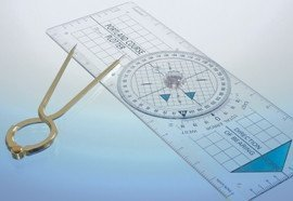 Blundell Harling The Portland Course Plotter Kit: Portland Course Plotter with 7' Divider