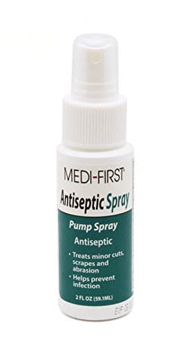 Medi-First 24402 Antiseptic Spray Pump, 2 Ounce